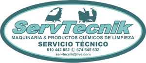 Maquinaria industrial de limpieza - Servtecnik
